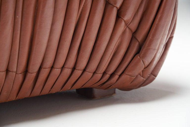 """""""Piumino"""" Club Chair by De Pas, D'Urbino & Lomazzi for Dell'Oca, Italy, 1970s For Sale 7"""