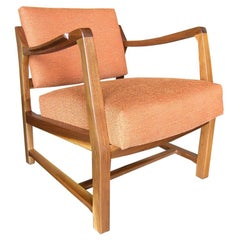Pivot-Back Armchair by Edward Wormley for Dunbar
