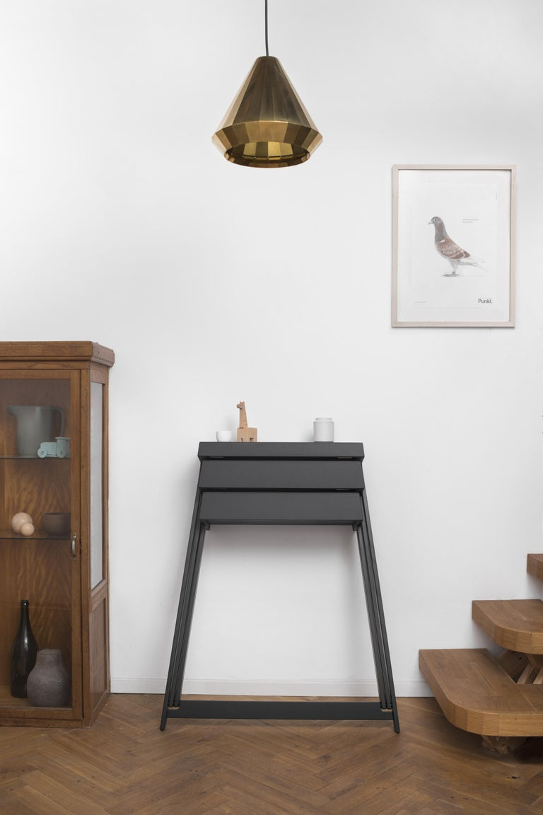 Dutch Pivot Solid Wood Cabinet Designed by Raw Edges For Sale