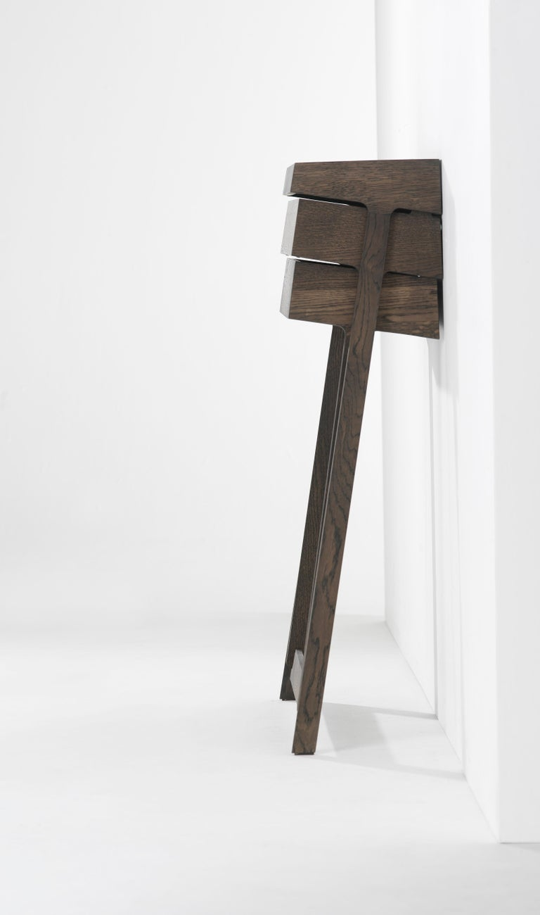 Pivot Solid Wood Cabinet Designed by Raw Edges For Sale 1