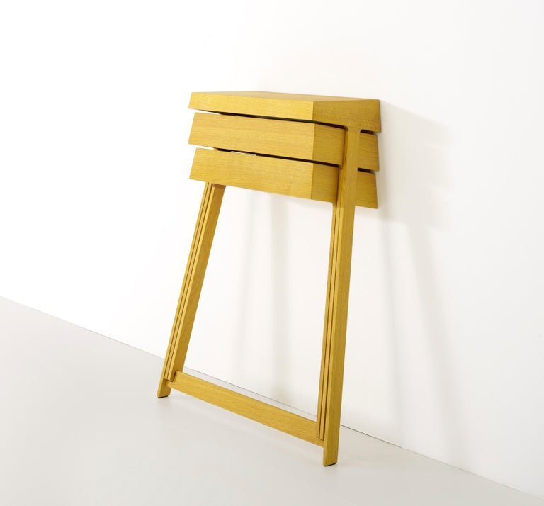 Pivot Solid Wood Cabinet Designed by Raw Edges For Sale 2