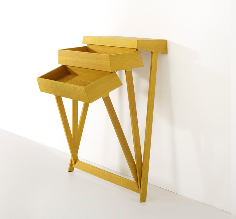Pivot Solid Wood Cabinet Designed by Raw Edges For Sale 3