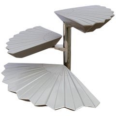 Pivoting Fan Table