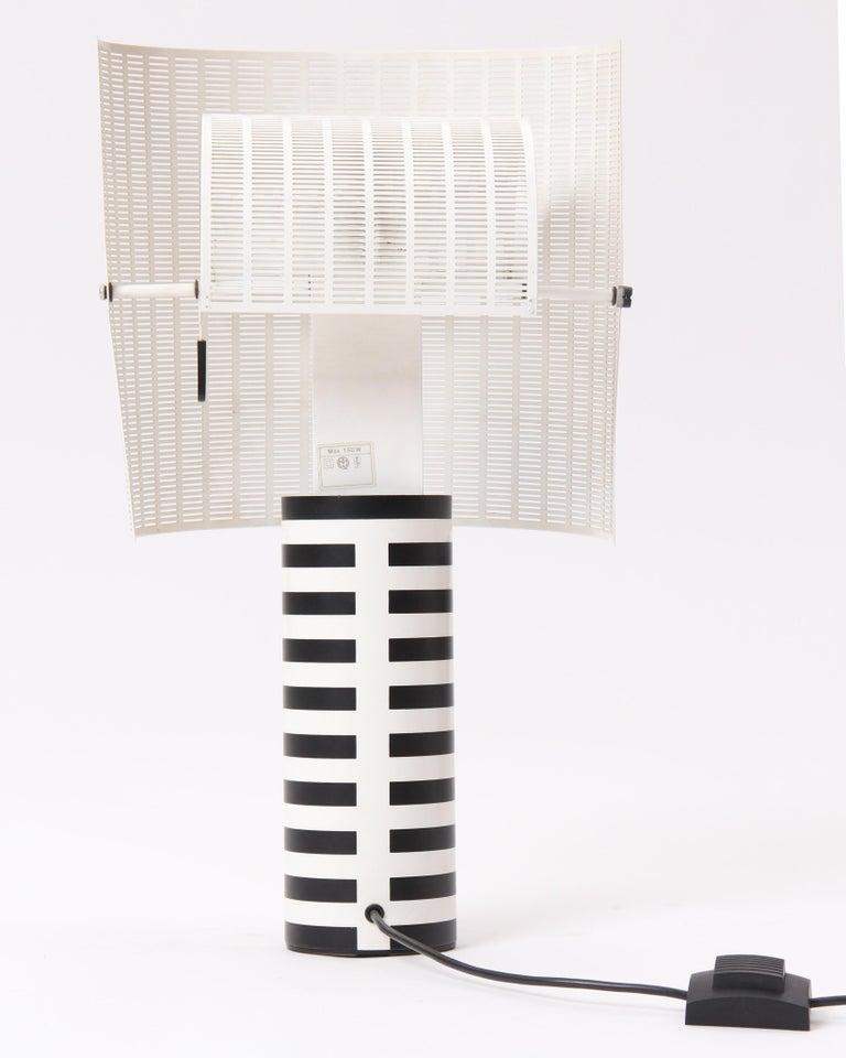 Italian Pivoting 'Shogun' Table Lamp by Mario Botta For Sale