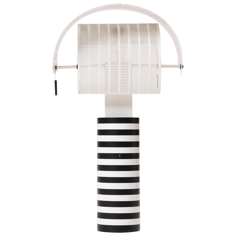 1980s Pivoting 'Shogun' Table Lamp by Mario Botta for Artemide