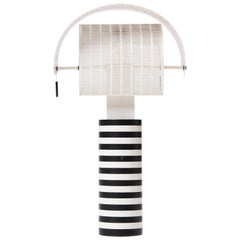 1980s Pivoting 'Shogun' Table Lamp by Mario Botta for Artemide