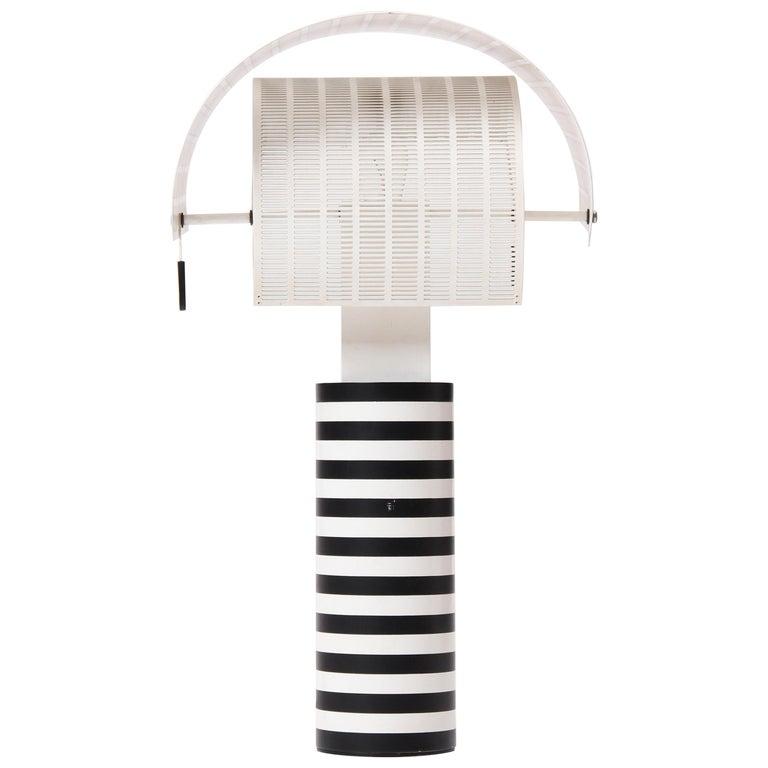 Pivoting 'Shogun' Table Lamp by Mario Botta For Sale