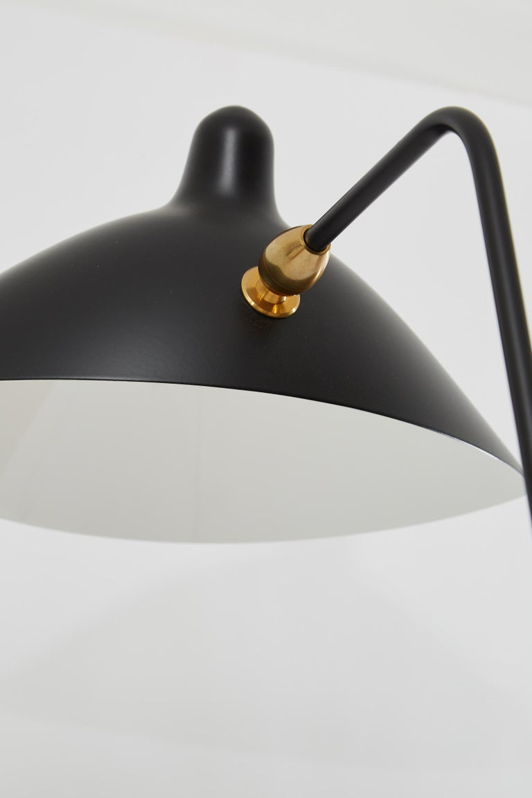 French Pivoting Wall Light by Serge Mouille For Sale