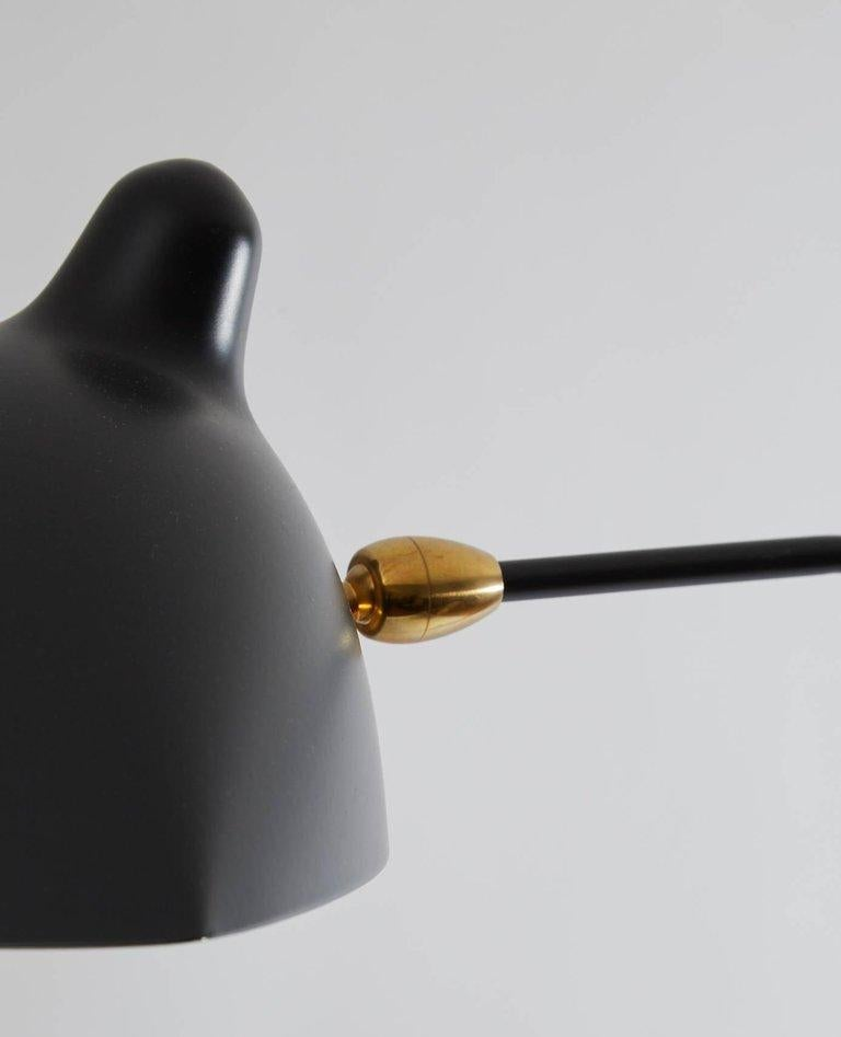 Contemporary Pivoting Wall Light by Serge Mouille For Sale