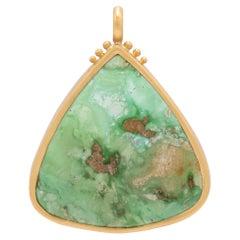 Pixie Turquoise Triangle Pendant
