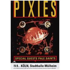 'Pixies: Bossanova Tour' 1990 German A1 Poster