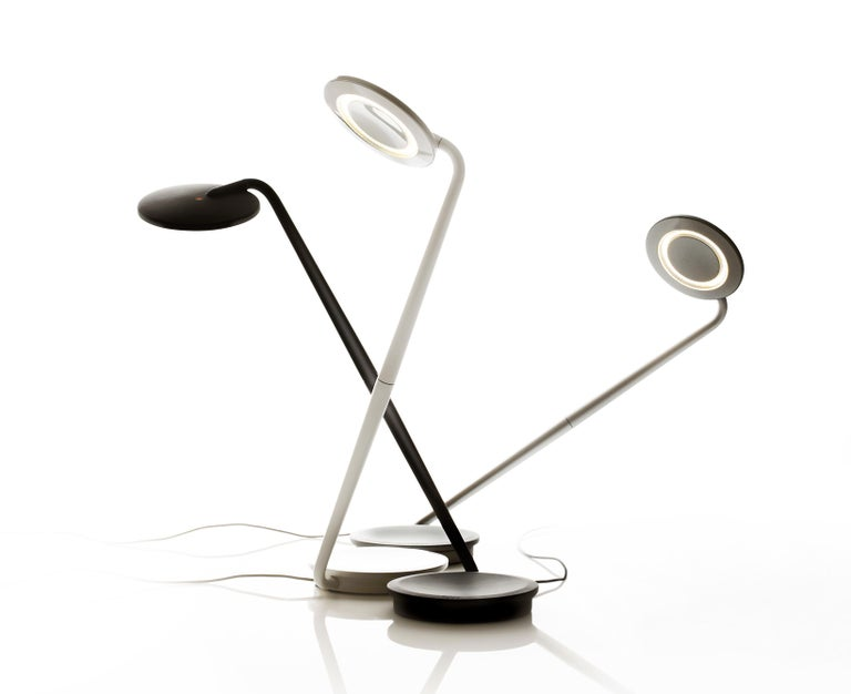 Pixo Optical Table Lamp In White By Pablo Designs For Sale