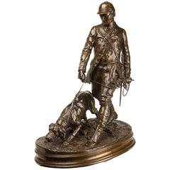 P.J. Mêne Bronze Group ''Valet de Limier''