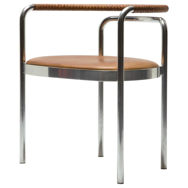 Poul Kjærholm PK 12 chair, 2000s, offered by R & Company