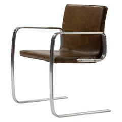 "PK 13 ""Free Swinger"" Cantilevered Armchair by Poul Kjaerholm, circa 1974"
