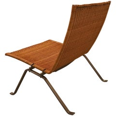 PK-22 Easy Chair by Poul Kjærholm for Fritz Hansen, Vintage Rattan / Wicker edit