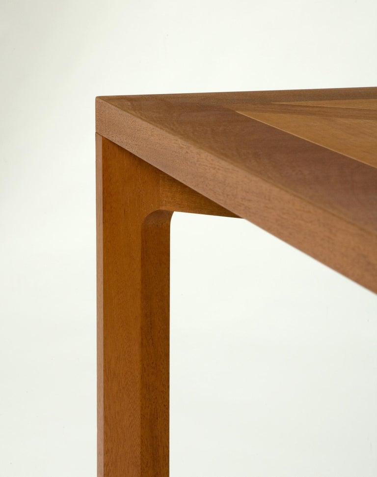Late 20th Century PK 70 Mahogany Dining Table by Poul Kjærholm, circa 1990 For Sale