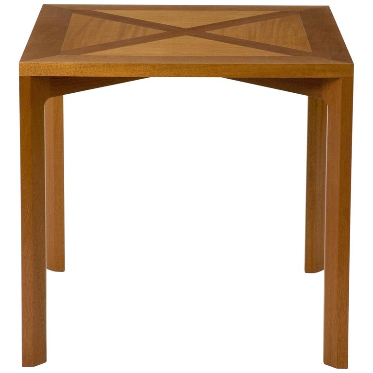 PK 70 Mahogany Dining Table by Poul Kjærholm, circa 1990 For Sale