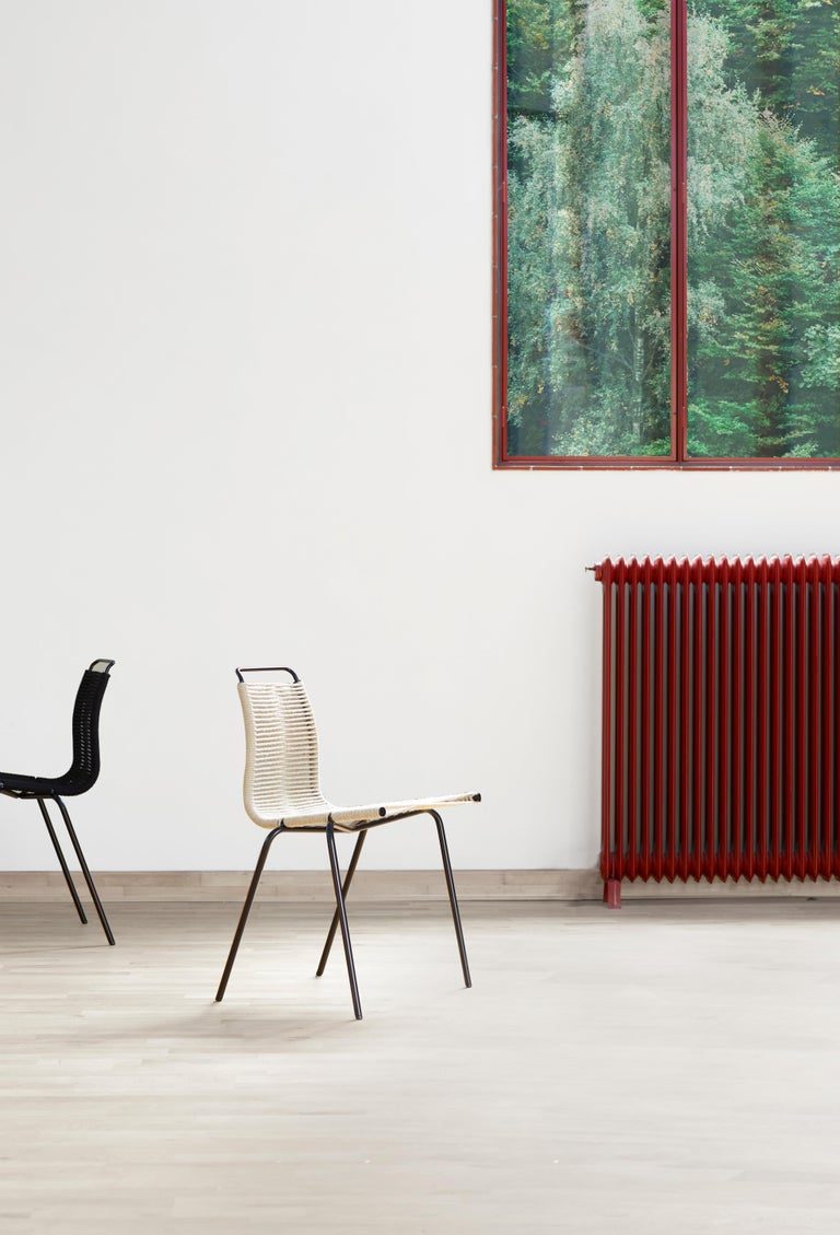 PK1 Dining Chair in Stainless Steel Base by Poul Kjærholm For Sale 8