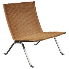 PK22 Lounge Chair by Poul Kjaerholm for Fritz Hansen, Denmark, 1960