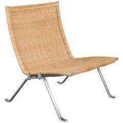 PK22 Lounge Chair by Poul Kjaerholm for Kold Christensen, Denmark, 1960