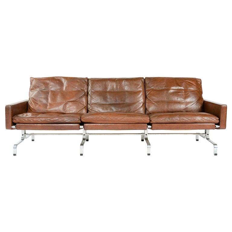 Poul Kjærholm PK31-3 sofa, 1960s, offered by WYETH