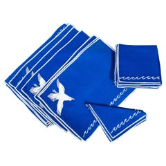 Placemats/Napkins with Sea Motif