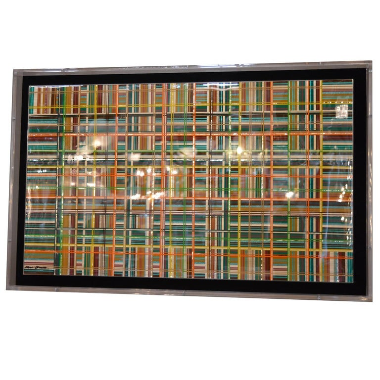 Plaid by Mauro Oliveira For Sale