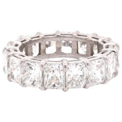 Plaintum Diamond Eternity Band