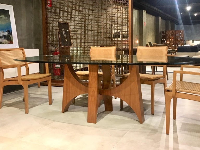 Brazilian Planalto Dining Table For Sale