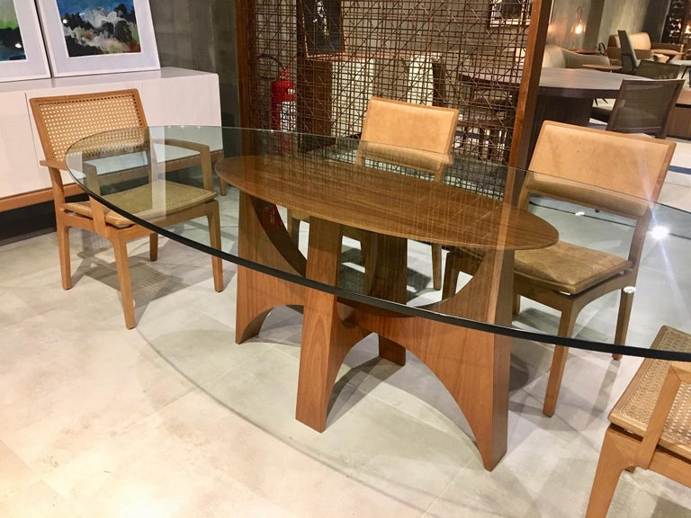 Planalto Dining Table In New Condition For Sale In Sao Paulo, Sao Paulo