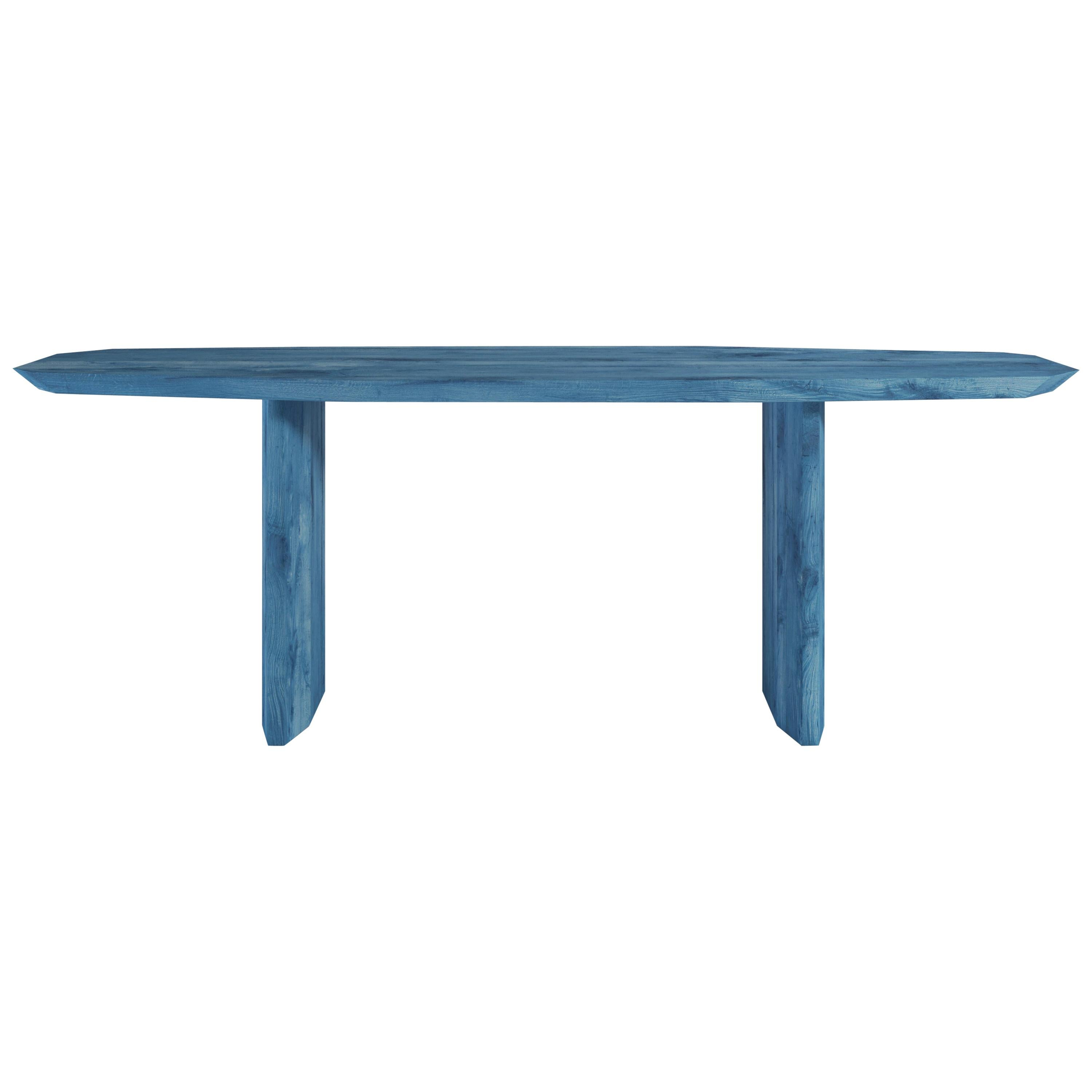 Planar Contemporary Dining Table in Wood by Tommaso Spinzi