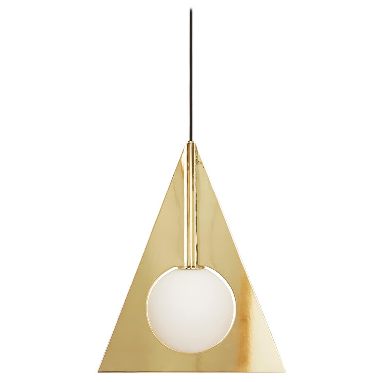 Plane Triangle Pendant Light by Tom Dixon For Sale