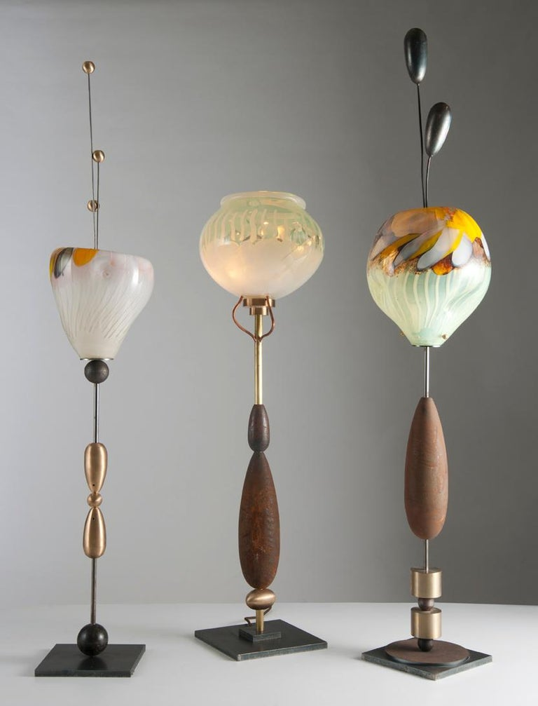 Modern Planet Lamp by Sema Topaloglu For Sale