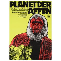 Planet of the Apes R1975 East German Film Poster