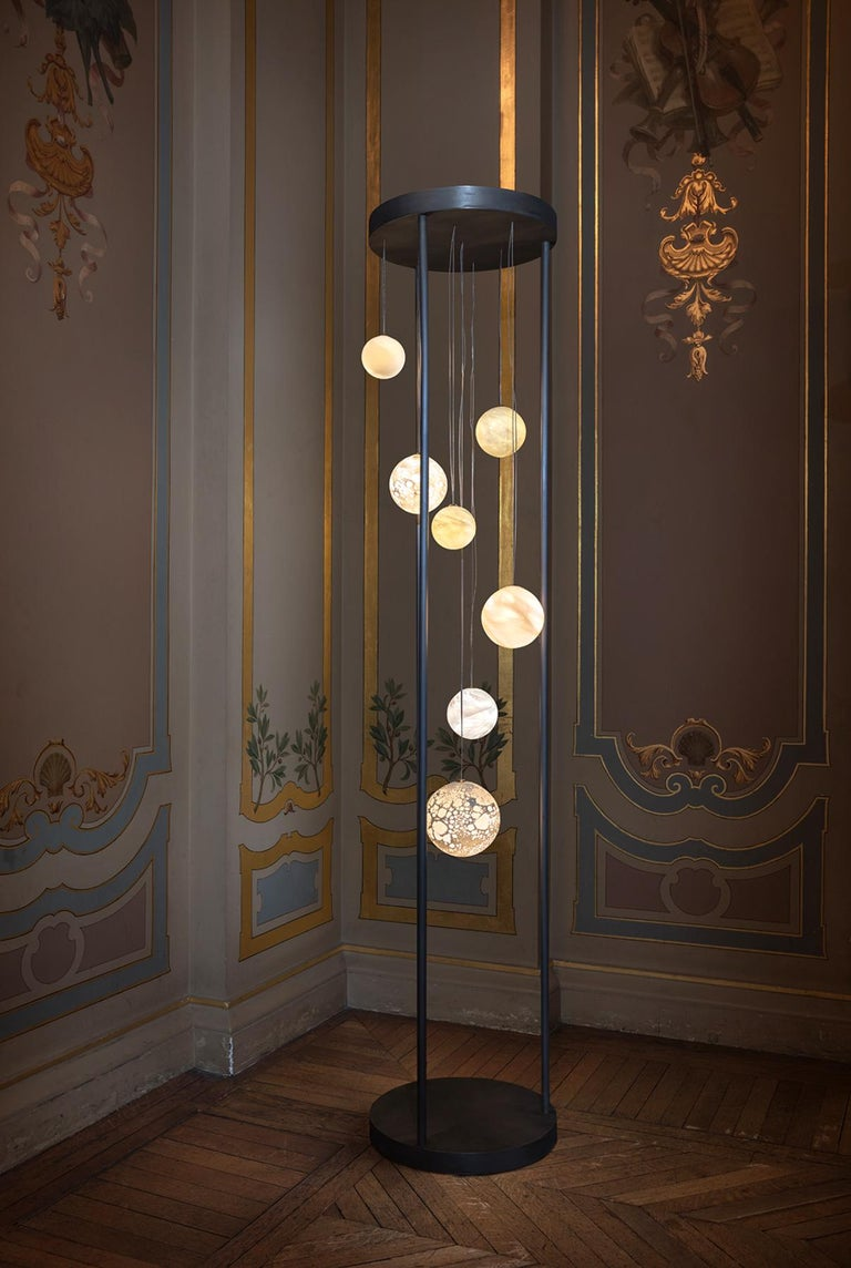 Planets floor lamp - Ludovic Clément d'Armont