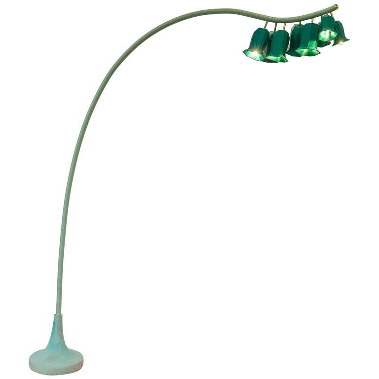 Plant Lamp Floorlamp Green For Sale