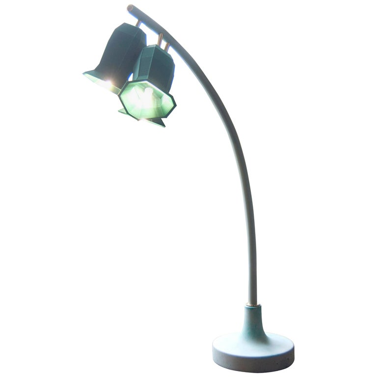Plant Lamp Table Green For Sale