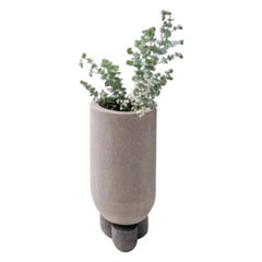 Planter Clay Vase by Lisa Allegra