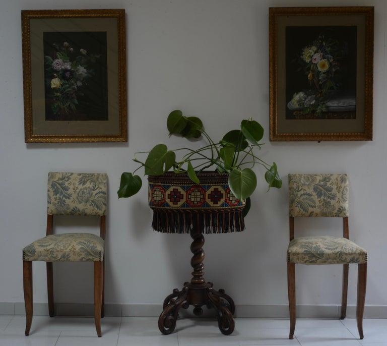 French Planter XIX Antique Rare For Sale