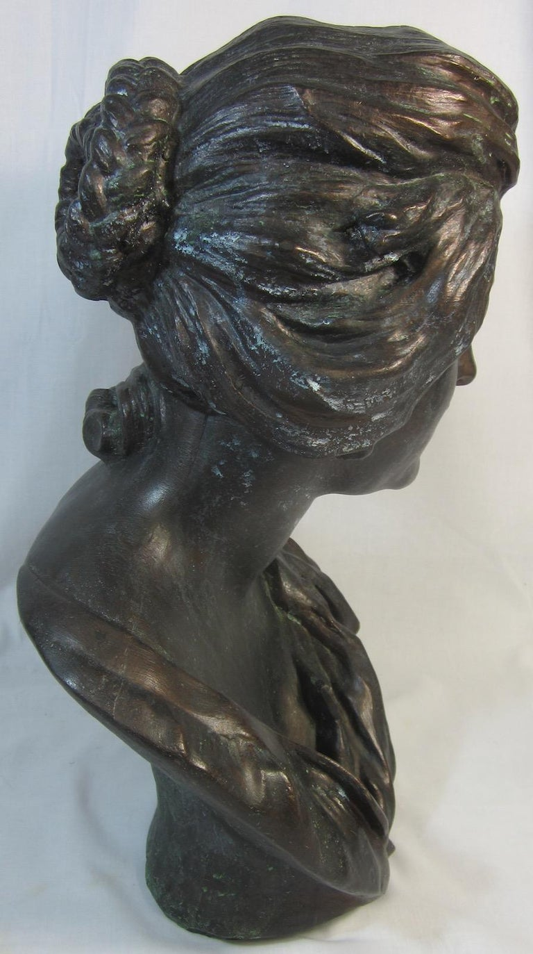 Australian Plaster Bust, Costanza after Benini For Sale