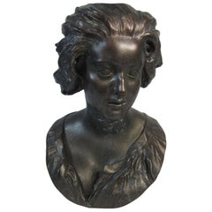 Plaster Bust, Costanza after Benini