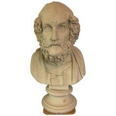 Plaster Bust of Homer