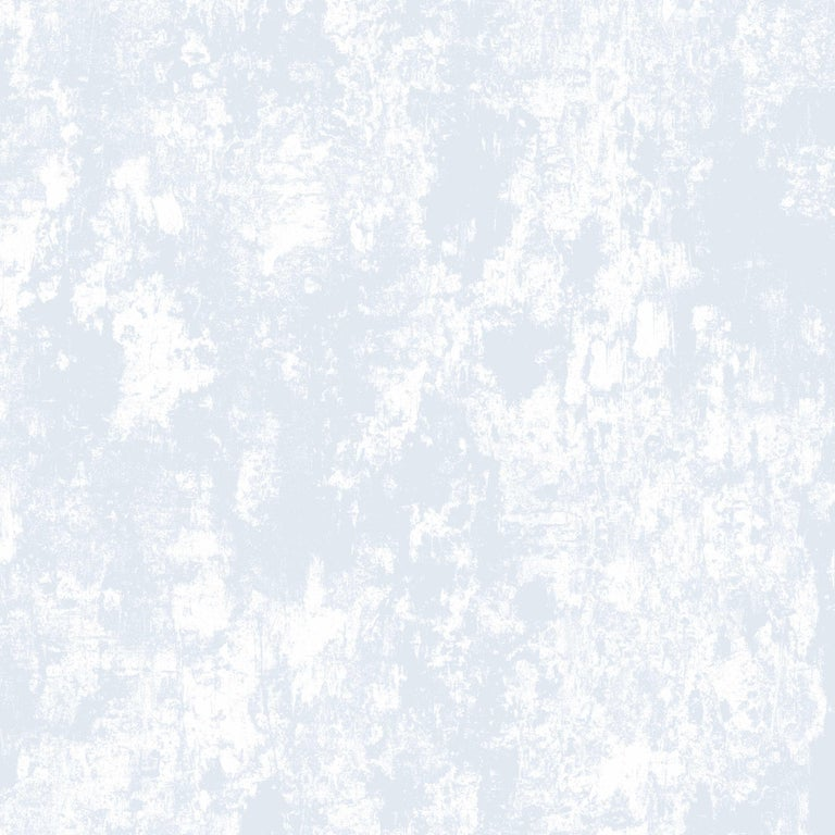 Contemporary Plaster, Cirrus Colorway, on Smooth Wallpaper For Sale