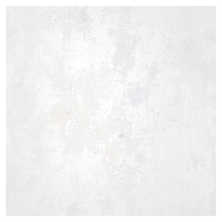 Plaster, Cirrus Colorway, on Smooth Wallpaper For Sale