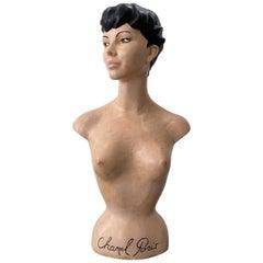 Plaster Figurine / Bust – Chanel 1940s