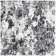 Plaster, Midnight Colorway, on Smooth Wallpaper