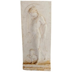 Plaster Relief of a Vatican Faun