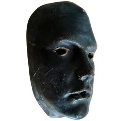 Plaster Face Sculpture