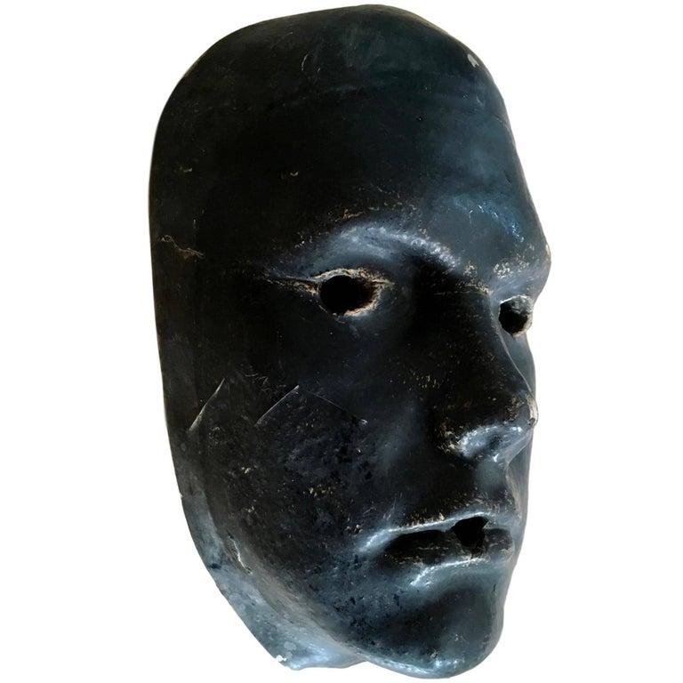 Plaster Face Sculpture